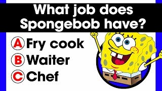 Only a true fan can complete this Spongebob quiz | 20 Fandom Questions | Comic books trivia