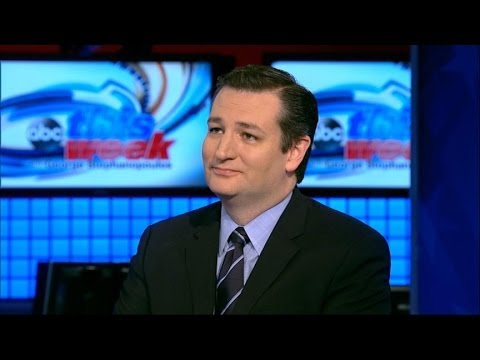 'This Week' Exclusive Interview With Sen. Ted Cruz