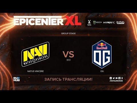 Na'Vi vs OG, EPICENTER XL, game 1 [v1lat, godhunt]