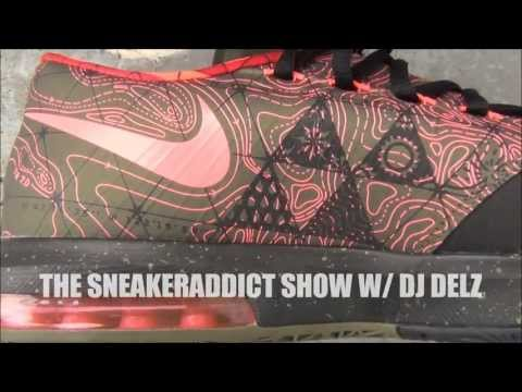 Nike KD 6 VI Meteorology UPDATE Shoe Review + On Feet W/ Dj Delz @DjDelz