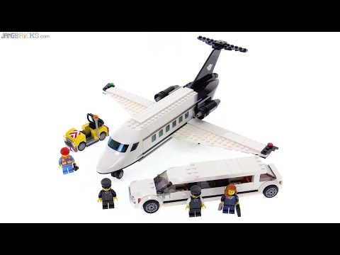 LEGO City Airport VIP Service review! 60102