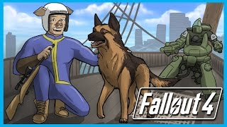 Fallout 4 Funny Adventures Ep. 1 - Raider Bases and the U.S.S. Constitution! (FO4 Funny Moments)