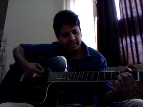 Baahon ke darmiyan on Guitar.
