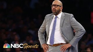 What's next for the Knicks after firing Fizdale? | The Daily Line | NBC Sports