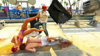 GTA V Unbelievable Crashes/Falls - Episode 46
