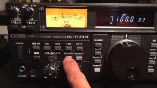 iCom IC-R71A all band, all mode HF General Coverage Receiver