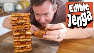 Edible jenga - French Toast Jenga!