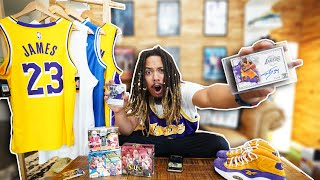 CRAZY $5000 LAKERS SIGNED AUTOGRAPH MEMORABILIA COLECTION !!!
