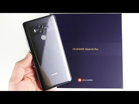 Huawei Mate 10 Pro Unboxing First Impressions!