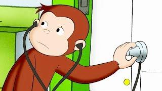 Curious George 🐵Doctor Monkey 🐵Kids Cartoon 🐵Kids Movies 🐵Videos for Kids