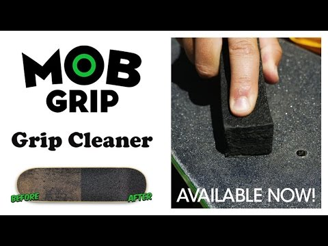 MOB Griptape Cleaner | The Best Way to Clean Your Griptape!