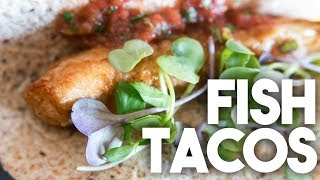 🌮 FISH TACOS | Easy Weeknight Meals | Kravings