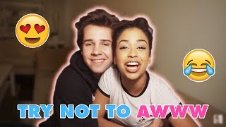 TRY NOT TO AWW!! LIZA KOSHY AND DAVID DOBRIK CUTE MOMENTS [PART 2]