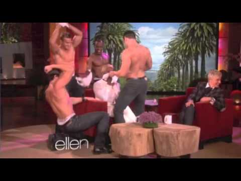 Four Hot Guys Give NeNe Leakes  Lap Dance on Ellen