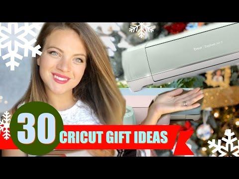 30 DIY CRICUT Gift Ideas for Christmas