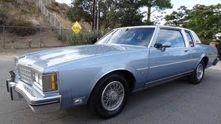 Oldsmobile Delta 88 Royale Brougham Video 85 Olds Coupe Eighty Eight Video Review