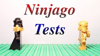 Lego Ninjago Stop Motion Tests