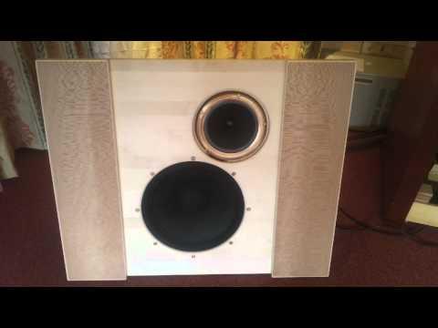 Musical Affairs - Open Baffle Field Coil prototype loudspeaker