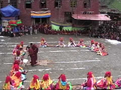 Nyingma Ritual Dances at Kathok Monastery
