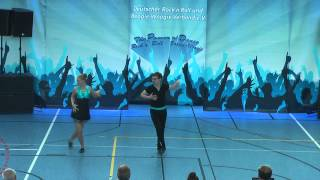 Alina Tuchscherer & Tom Stelzenmüller - Hupfadn Turnier 2015