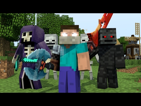 """♪ """"RAIDERS"""" - MINECRAFT PARODY OF CLOSER BY THE CHAINSMOKERS"""" ♫ (ANIMATED MUSIC Audio) ♫"""