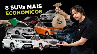 ⛽️ 8 SUVs mais Econômicos do Brasil em 2018 (incluindo Notas de Segurança) | AutoVideos