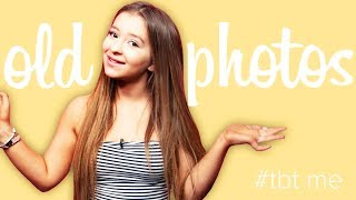 DANIELLE COHN Reacts To Old Photos | #TBT ME