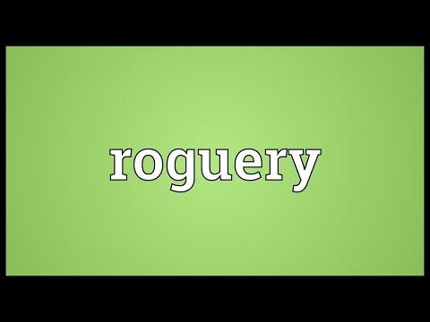 Header of roguery