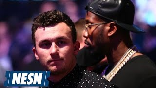 Johnny Manziel Could Be In Trouble For Partying Near Ex-GF