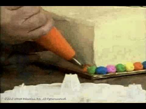 How to Make and Decorate a Bearing Birthday Balloons Cake by Wilton