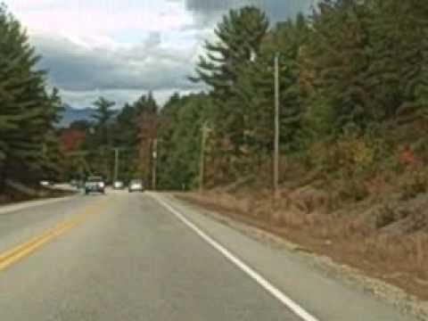 Fall Foliage Drive:  Route 16N to Ossipee, NH