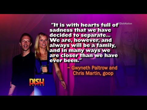 Gwyneth Paltrow and Chris Martin Split!