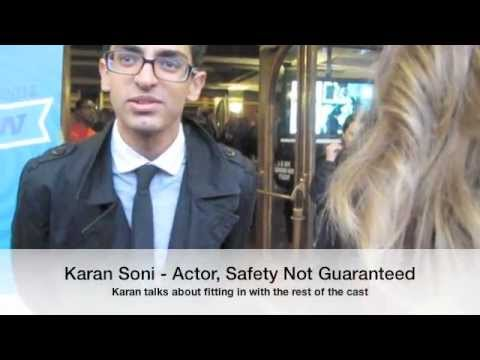 SXSW 2012  Safety Not Guaranteed Red Carpet with Karan Soni