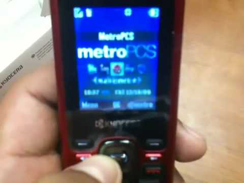 Metro PCS NEW Kyocera Domino unboxing