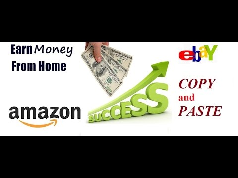 Best Way to make money online just copy and paste work from home