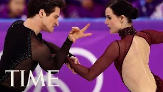 Tessa Virtue And Scott Moir's Ice Dancing Gold Medal Is An Internet Sensation | TIME