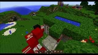 Minecraft 1.7.4, Geheime Luke im Boden, secret hatch in the ground