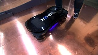 Taking a spin on a reallife hoverboard
