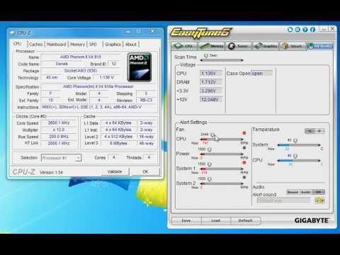 Gigabyte EasyTune 6 Utility скачать драйвер