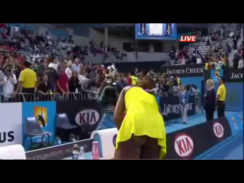 Video de ¿Venus Williams juega sin ropa interior     El Informador.flv