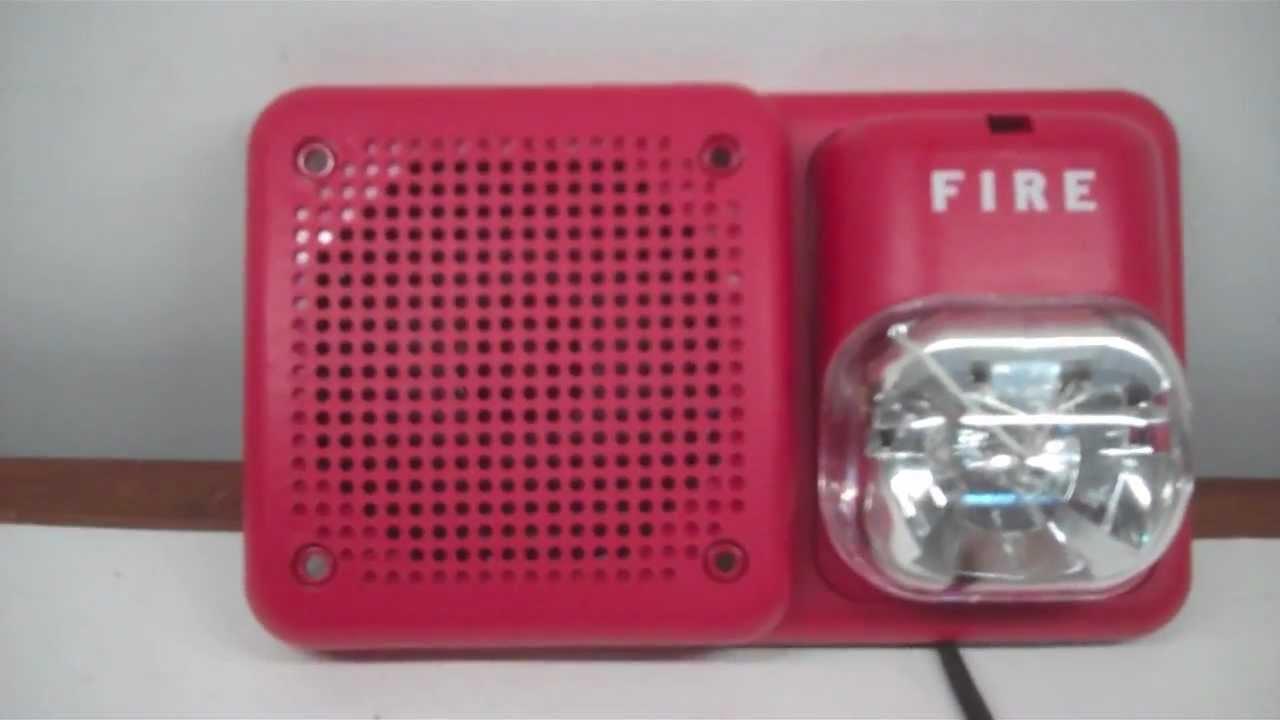 System Sensor Sp2r1224mc Fire Alarm Test Youtube