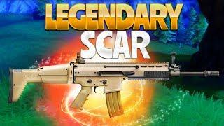 LEGENDARY SCAR!?  (Fortnite Battle Royale)