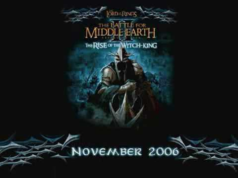 The Rise of the Witch-King Trailer 1 (LOTR: The Battle for Middle-earth II expansion pack)