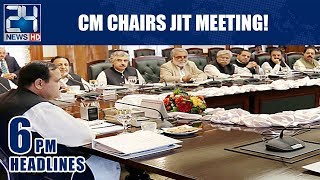 CM Chairs JIT Meeting! - 6pm News Headlines | 22 Jan 2019
