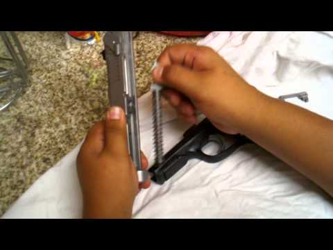 How To assemble and disassemble a 9mm ruger p95