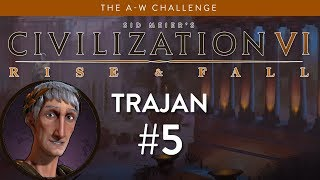 Let's Play Civilization 6: Rise and Fall - Deity - Re-Roaming part 5