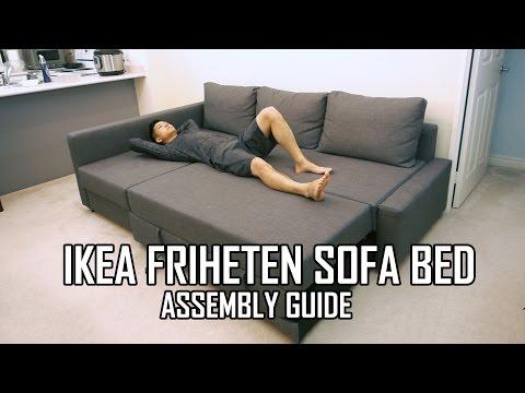 Ikea friheten sofa bed assembly guide - Sofa litera ikea ...