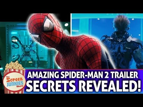 Amazing Spider-Man 2 Trailer - Secrets Revealed!