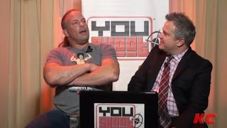 Rob Van Dam Talks Weed - Explaining 420 Leg Drop To Vince & More