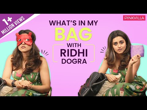 What's in my bag with Ridhi Dogra   S03E03   Fashion   Pinkvilla   Bollywood thumbnail